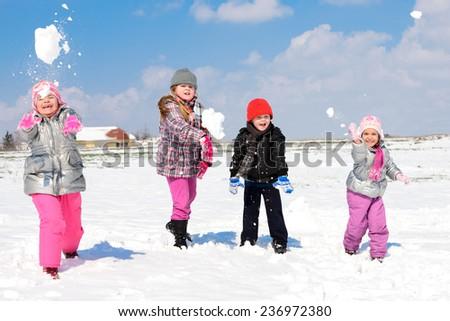 winter games in the snow/winter games in the snow