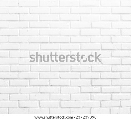 Kitchen wallpaper concept: Abstract vertical modern square white brick tile wall texture background. #237239398