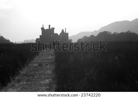 Kilchurn Castle in Scotland #23742220