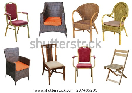 Collection of different chairs. #237485203