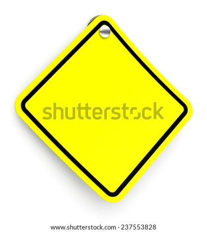 the blank traffic sign #237553828