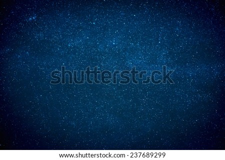 Night sky texture with stars