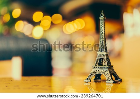 Eiffel toy - Vintage effect style pictures #239264701