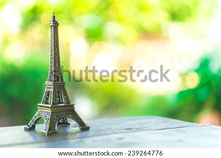 Eiffel toy - Vintage effect style pictures #239264776