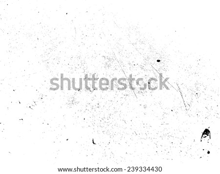 Grunge Black and White Distress Texture . Scratch Dirty Wall Background .Vector Illustration.