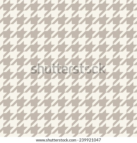 Hounds-tooth seamless vector pattern