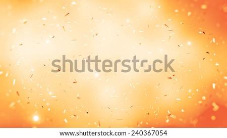 randomly flowing confetti backgound