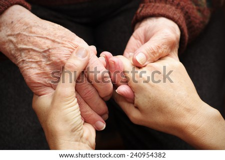 Support and help the elderly #240954382