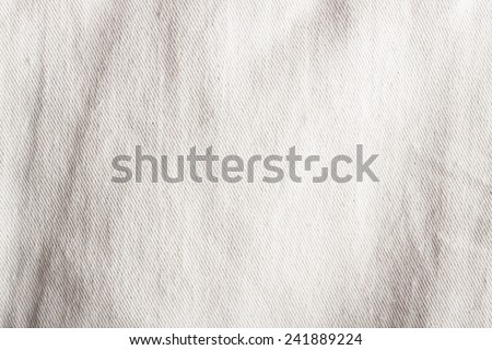 Crumpled fabric texture, cloth background  Royalty-Free Stock Photo #241889224