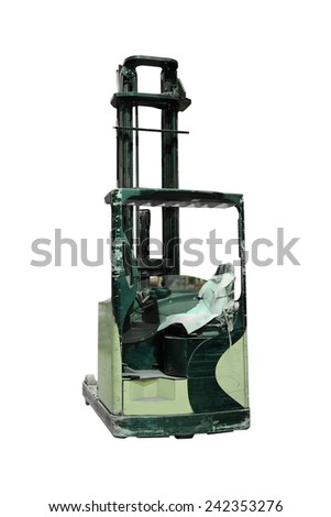 The image of loader under the white background  #242353276