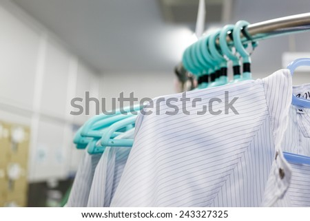Clean room dress for factory #243327325