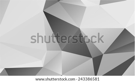 Abstract geometric background of triangular polygons #243386581