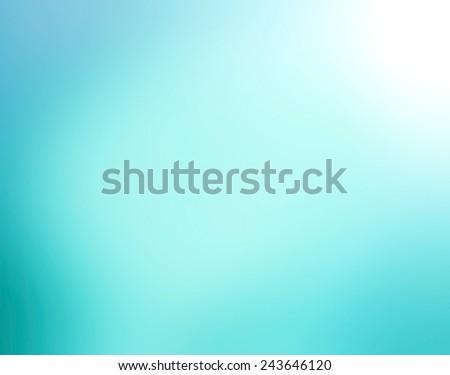 Blue gradient radial blur design