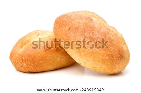 mini bread on white background  #243915349