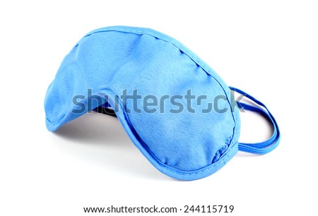 Sleeping mask on white background #244115719