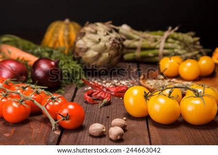 fresh vegetables #244663042