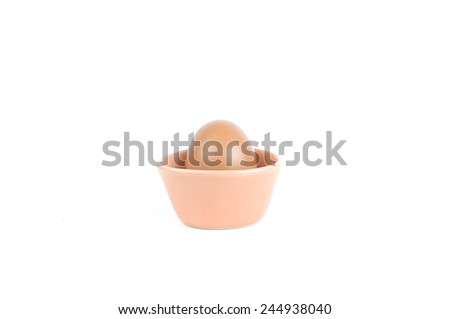 Chicken egg is a common ingredient for general food and every day meal. #244938040
