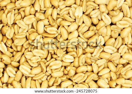 Shelled peanuts #245728075