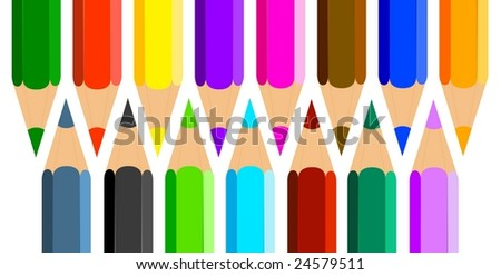 Colorful Pencils #24579511