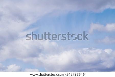 blue sky clouds #245798545