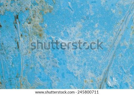 Blue color concrete texture #245800711