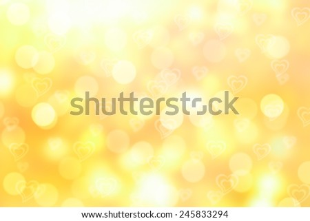 yellow valentine sparkle bokeh background or bokeh wallpaper #245833294