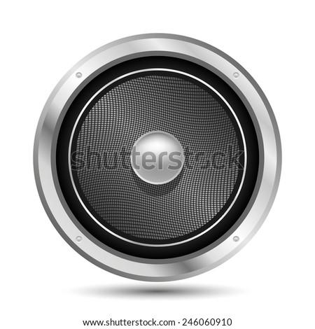 Audio Speaker Vector. EPS10 #246060910
