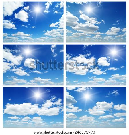 blue sky #246391990