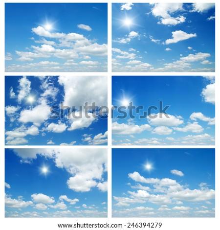 blue sky #246394279