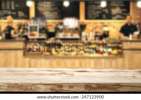wooden top and bar  Royalty-Free Stock Photo #247123900