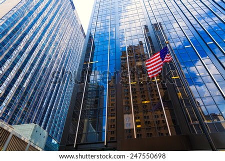Avenue of the Americas 6th Av Manhattan New York city US #247550698