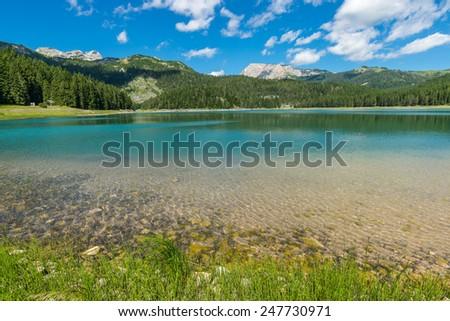 View of the Black Lake. Durmitor, Montenegro. #247730971