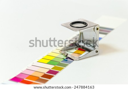 Press color management - print production #247884163