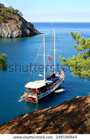 Scenic bay near to Kemer, Turkey #248188864