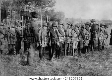 Training German boys for army during WW1. 1914-18. #248207821