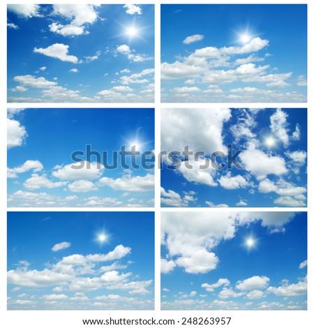 blue sky #248263957