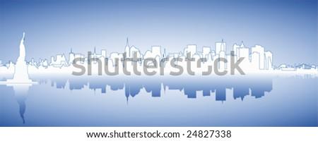 Skyline New York #24827338
