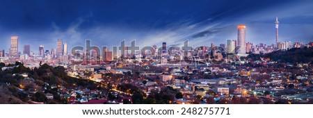 Jo'burg Skyline Royalty-Free Stock Photo #248275771