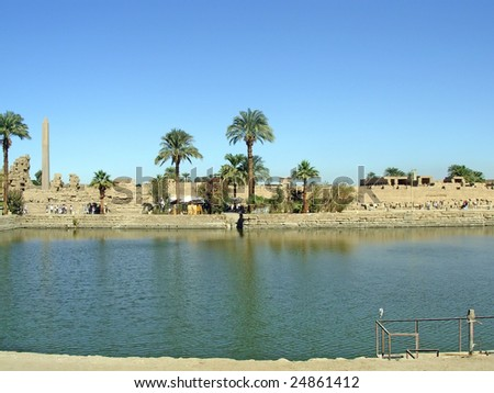 Karnak - ancient temple of Egypt, Luxor, Africa. To see similar images, please VISIT MY GALLERY. #24861412