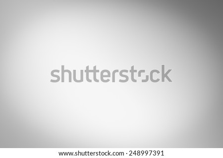 Gray gradient abstract background