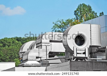 Industrial steel air conditioning and ventilation systems #249131740