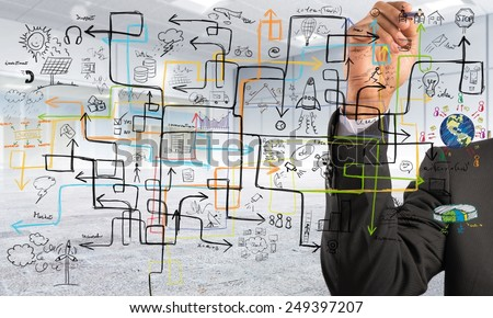 Businessman find a solution to increase profit #249397207