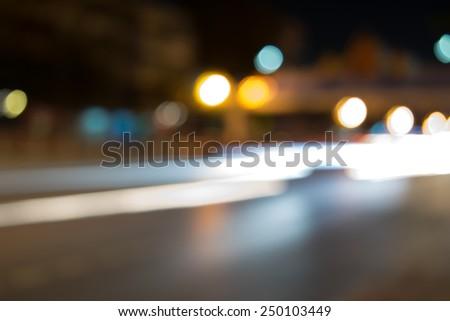 Bokeh background, street, road, light #250103449