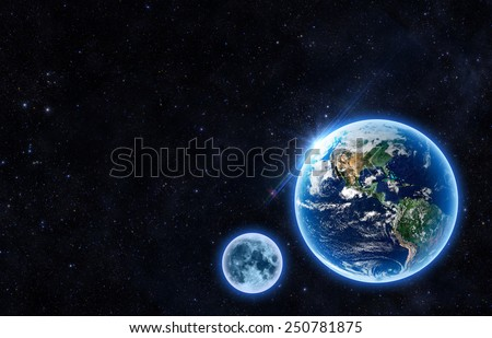 - Elements of this Image Furnished by NASA