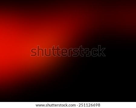 Abstract background. Red and black background with blur effect.