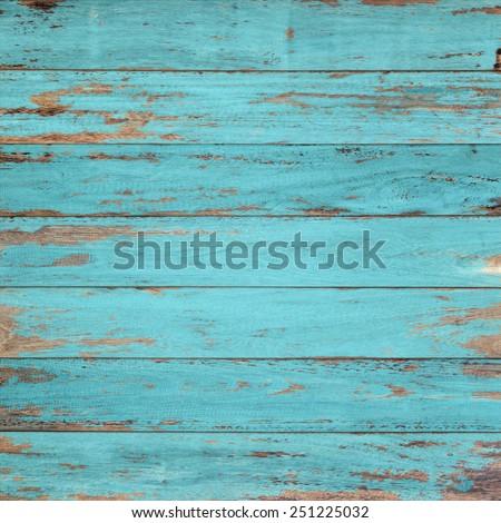 Vintage wood background with peeling paint. #251225032