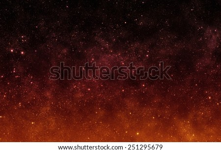 Red Sky - Elements of this Image Furnished by NASA