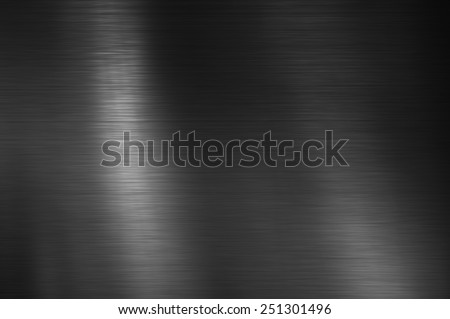 Black Stainless steel texture metal background Royalty-Free Stock Photo #251301496