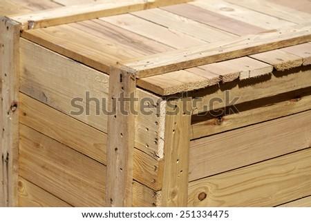 Old wooden pallet texture #251334475