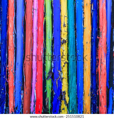 Painted wood wall background  #251510821